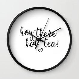 Hot-tea Quote Wall Clock