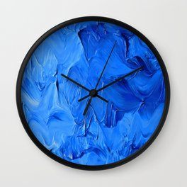 Lapeda Textile Art - 8 Wall Clock