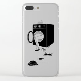 Washing Bad Memories Clear iPhone Case