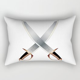 Crossed Cutlasses Rectangular Pillow