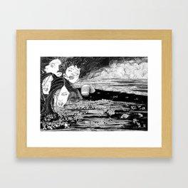 Qelong Framed Art Print