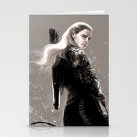archer Stationery Cards featuring the archer by evankart