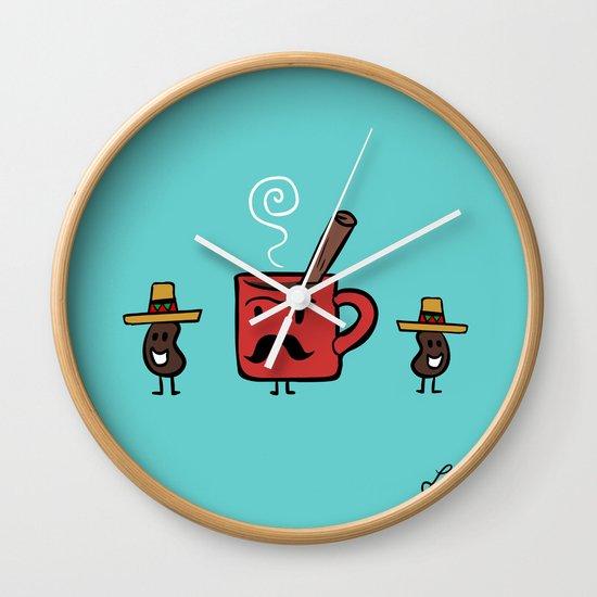 Cafe De Olla Wall Clock