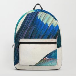 Wing of a Blue Roller by Albrecht Durer 1512 // Anatomy of a Birds Wing Wildlife Nature Decor Backpack