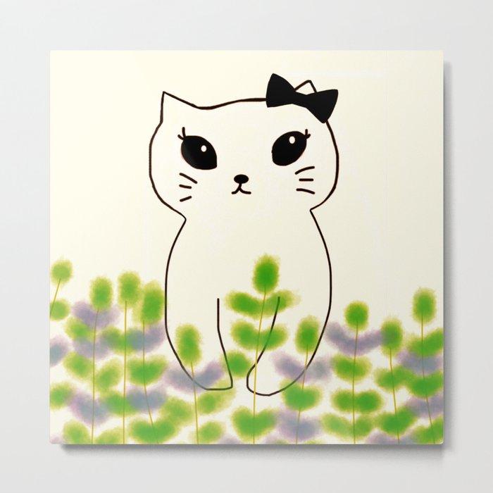 cat-180 Metal Print