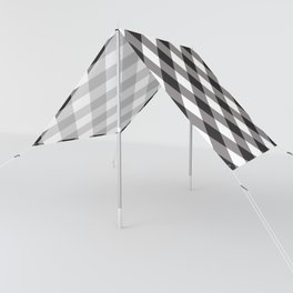 Gingham - Black Sun Shade