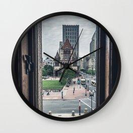 Copley Square Wall Clock