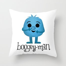Boogey-man Throw Pillow