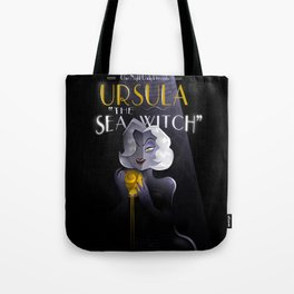Ursula Sings the blues Tote Bag
