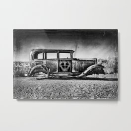 Rusting in Splendour Metal Print