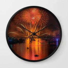 Happy 4th of July, USA!!! Wall Clock
