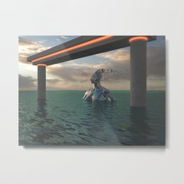 Headwinds Metal Print