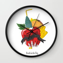 Death in the city Wall Clock