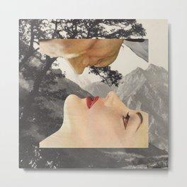 A baciarsi non si sbaglia mai Metal Print