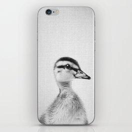Duckling - Black & White iPhone Skin
