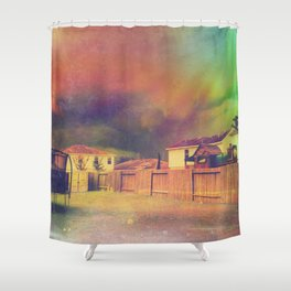 Yesterday Expired Shower Curtain