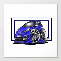 honda Canvas Prints featuring Honda  by Xr1s