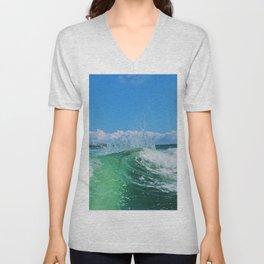 Miami Wave Unisex V-Neck