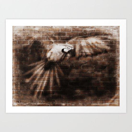 Break Through Art Print