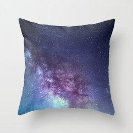 Gentle Milky Way Throw Pillow