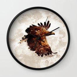 Awesome eagle Wall Clock