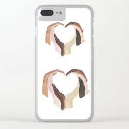 One Love Clear iPhone Case