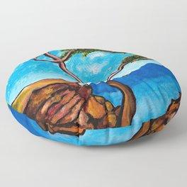 Cypress Tree Floor Pillow