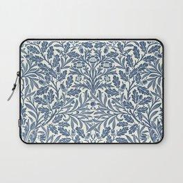 William Morris Navy Blue Botanical Pattern 2 Laptop Sleeve
