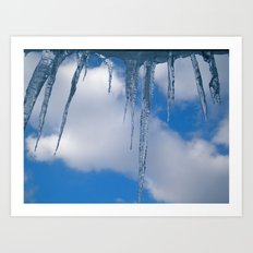 Frozen (for devices) Art Print