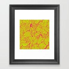 Marble Splash Framed Art Print
