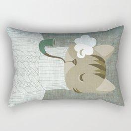 dapper's delight Rectangular Pillow