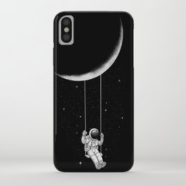 Moon Swing iPhone Case