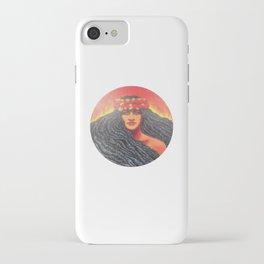 Goddess Pele of Hawaii iPhone Case