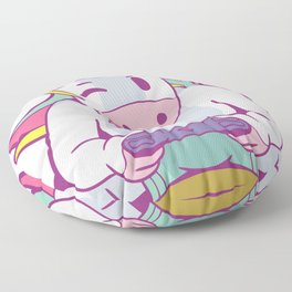 Gamer Girl T-Shirt Unicorn Video Game Cute Womens Shirt Gift Floor Pillow