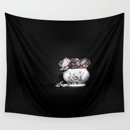 Demise of the rose Wall Tapestry