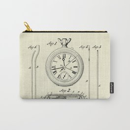 Stop Watch-1889 Carry-All Pouch