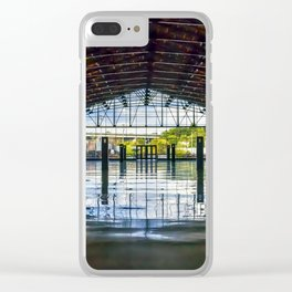Main St Station Waiting Area Clear iPhone Case