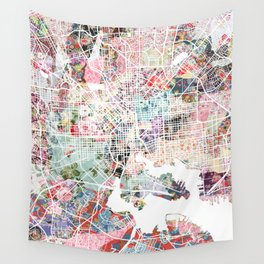Baltimore map Wall Tapestry