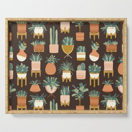 Cacti & Succulents Serving Tray