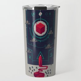 It was built for us by future generations Travel Mug
