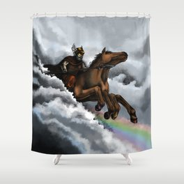 Sleipnir Shower Curtain