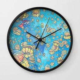 Jellyfish Lake Wall Clock