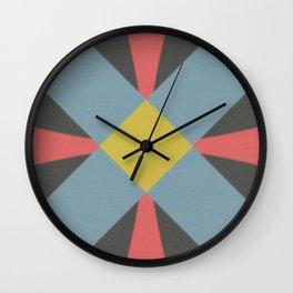 Blue gray Wall Clock