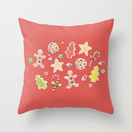 Holiday Treats Throw Pillow