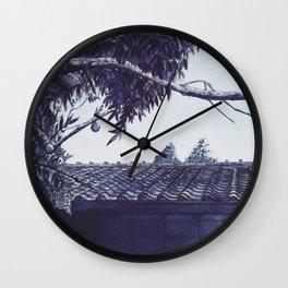 Pearls of Kyoto #3 Wall Clock
