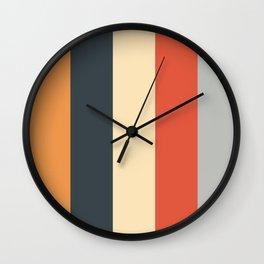 Stripey 22 Wall Clock