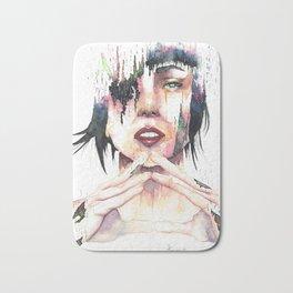 Ghost in the Shell - danielcrmr fan art- Bath Mat