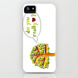 Do you love? iPhone Case