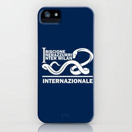 Slogan Inter Milan iPhone Case