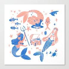 Ocean treasures Canvas Print